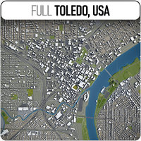 Toledo, USA - city and surroundings