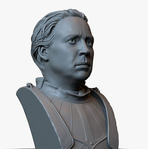 bust brienne tarth thrones model