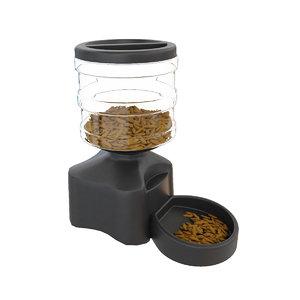 3D pet feeder model