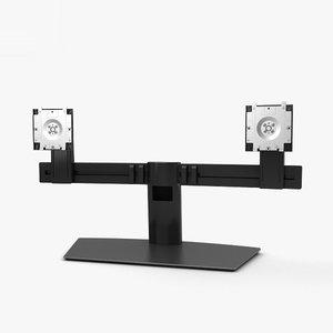 3D dell dual monitor model