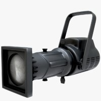 phx led 250w profile 3D model