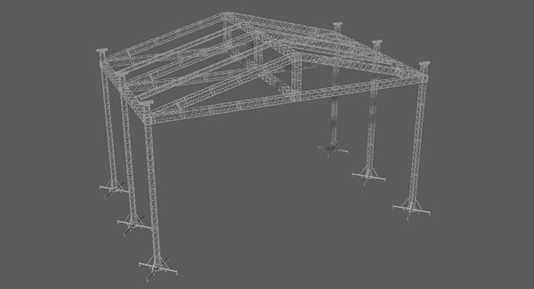prolyte st 16x14 roof 3D model