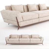 3D model saccaro callas sofa