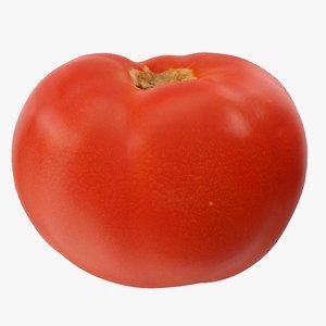3D tomato 04 hi polys