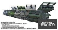 Low Poly M270 MLRS