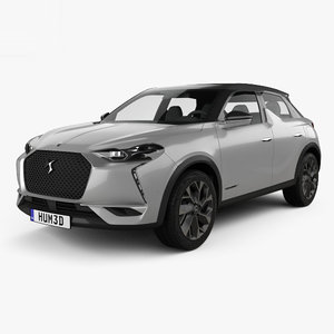 ds 3 crossback 3D