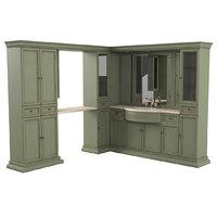 3D spazio classico 6 bathroom furniture