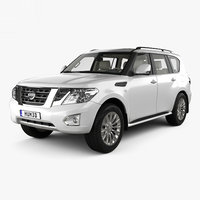 nissan patrol cis 3D model