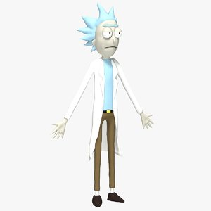 rick sanchez model