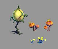 Yunmengze - strange plants 21