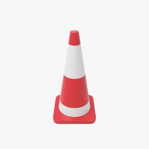 3D traffic cone v4
