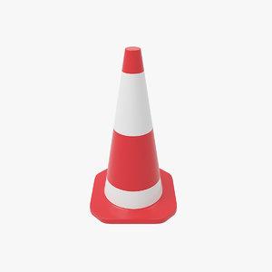 3D traffic cone v3