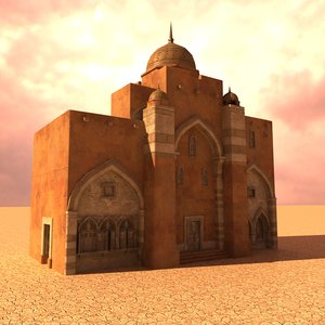 arabian city hall 3D model