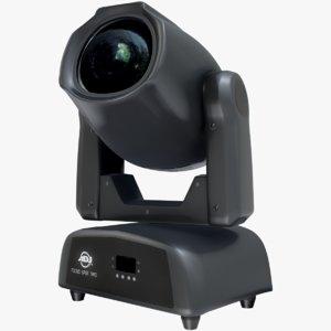 3D model adj focus spot color