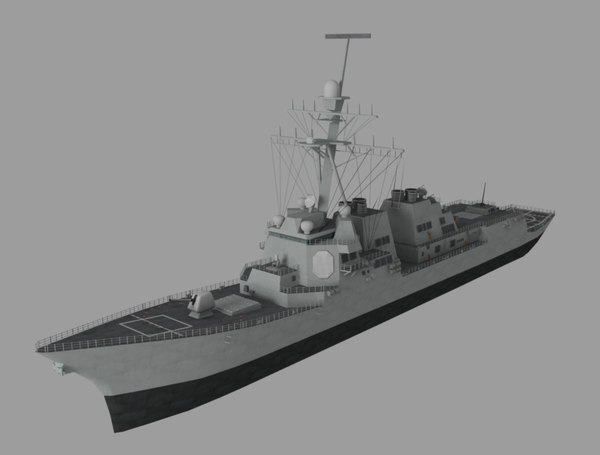 3D battle ship