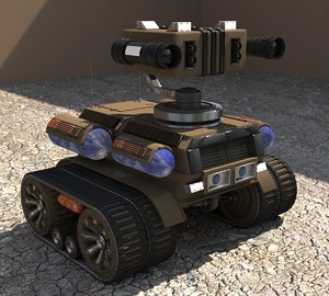 3D tank tdo