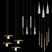 3D fulcrum light chandelier model