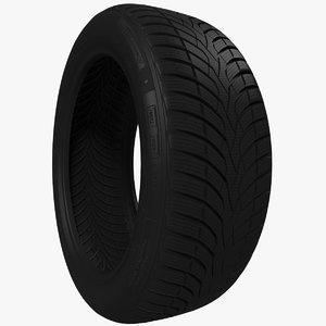 car tire model