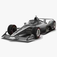 indycar season 2020 aeroscreen 3D