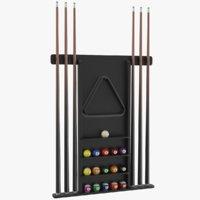 real billiard rack model