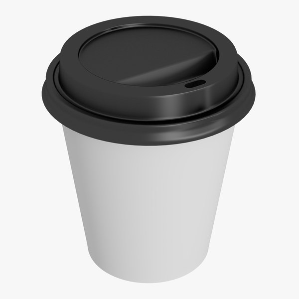 3D coffee cup 10oz