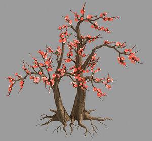 3D model plant - tree 23