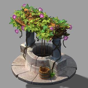 plant - wishing 32 3D model
