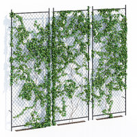 3D ivy wall