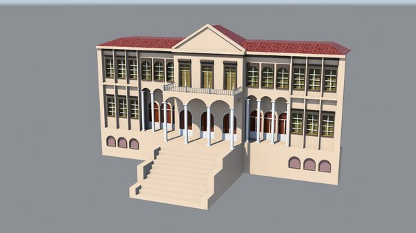 governorship building 3D model