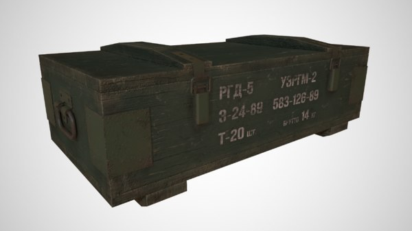 ussr box 3D model