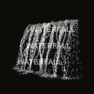 3d water waterfall model