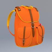 Stylized School Bag
