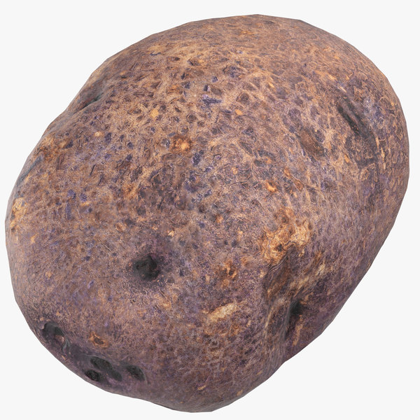 3D purple potato ready 02