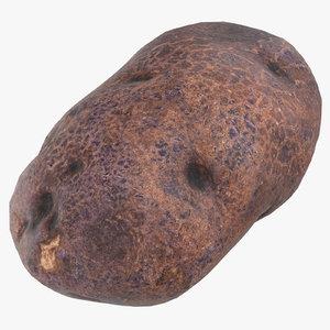purple potato ready 05 3D model