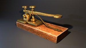 mors telegraph 3D model