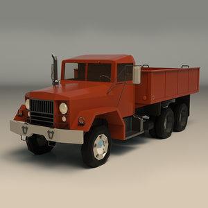 truck vintage 3D model