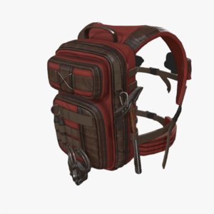bag backpack 3D