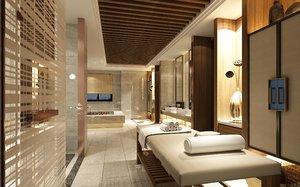 spa massage beauty 3D model