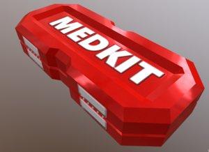 medkit stimulator 3D model