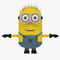 3D minion movie model