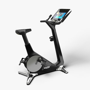 3D model home personal gym bike