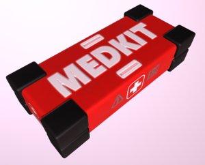medkit box crate 3D model