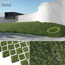lawn grass 2 3d model