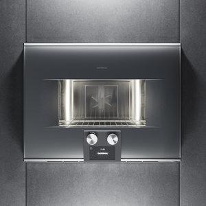 3D gaggenau oven bs454110 kitchen appliance