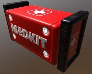 medkit box crate 5 3D model