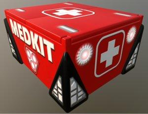 medkit box crate model