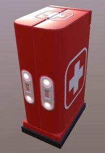 medkit box crate 3D