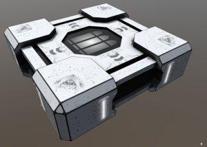 hitech scifi ammobox 1 3D