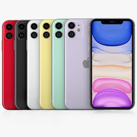 apple iphone 11 color model
