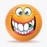 emoji v011 3D model